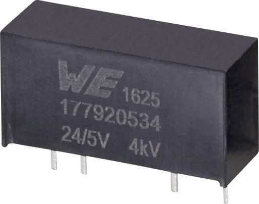 DC / DC menič napätia, DPS Würth Elektronik 177920534, 24 V, 5 V, 0.2 A, 1 W