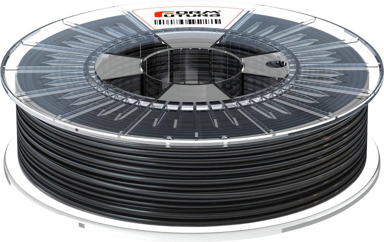 Vlákno pro 3D tiskárny Formfutura HDglass™, polyethylen (PET), 1.75 mm, 750 g, černá