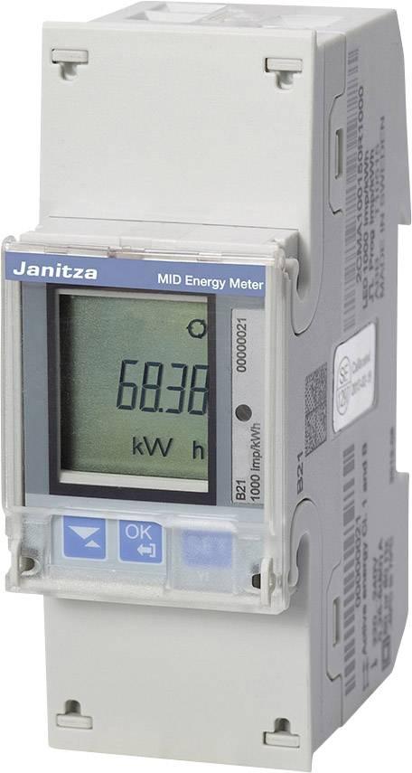 Jednofázový elektroměr Janitza B21 311-10J