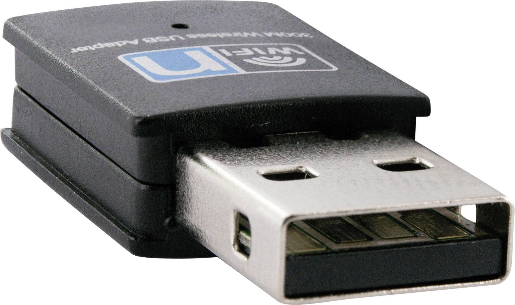 USB 2.0 Wi-Fi adaptér Schwaiger DTR 300, 300 Mbit/s