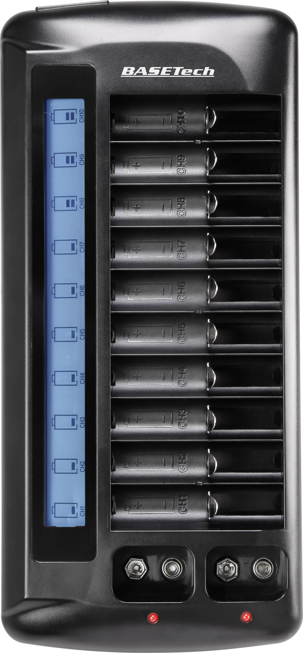 Nabíječka akumulátorů Basetech BTL-14 pro aklumulátory AAA, AA, 9 V
