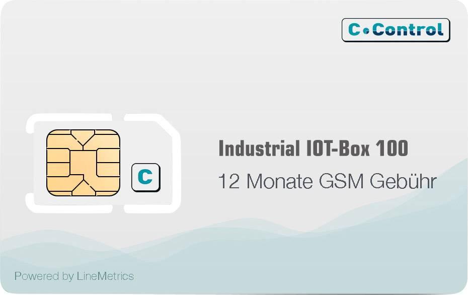 Licence GSM C-Control VC-M-TMA50 na 12 měsíců