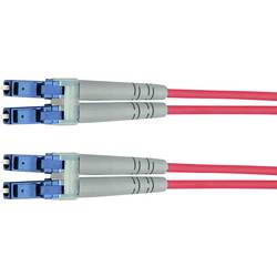 Optické vlákno kabel Telegärtner L00873A0031 [1x zástrčka LC - 1x zástrčka LC], 5 m, žlutá