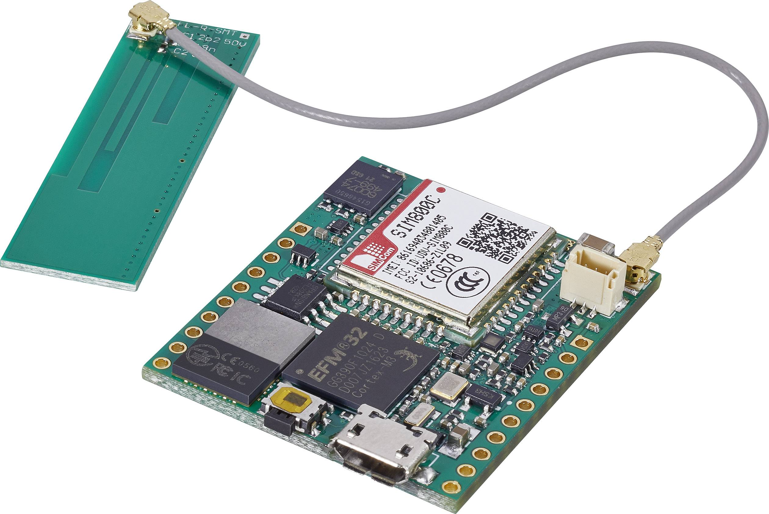 Štartovacia sada C-Control Embedded GSM Modul, 32 Bit ARM Cortex-M3 MCU IoT-Starter Kit 10