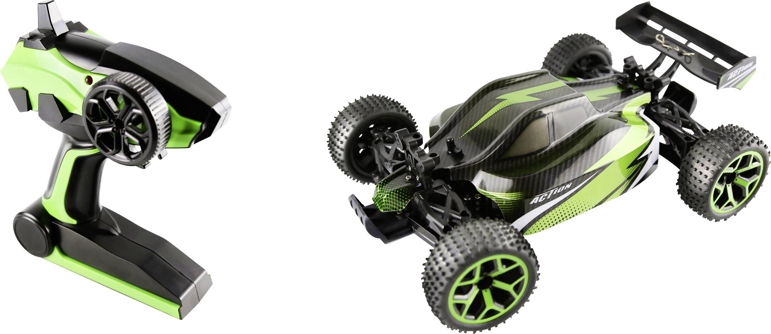 RC model auta buggy Hyper Striker , zelená