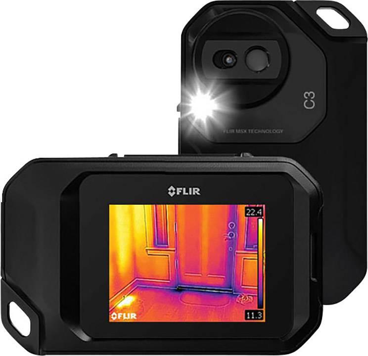 Termálna kamera FLIR C3 72003-0303, 80 x 60 pix, MSX®, Wi-Fi