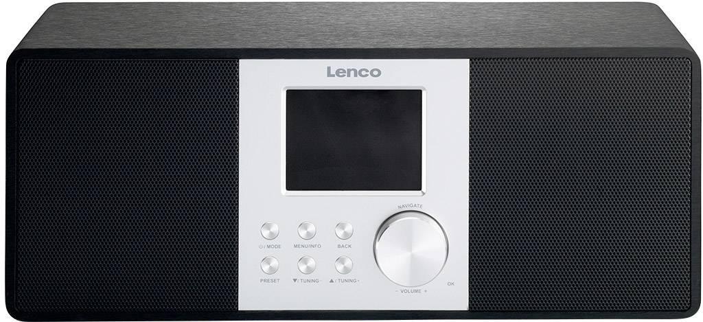 Internetové stolné rádio Lenco DIR-200, Wi-Fi, čierna