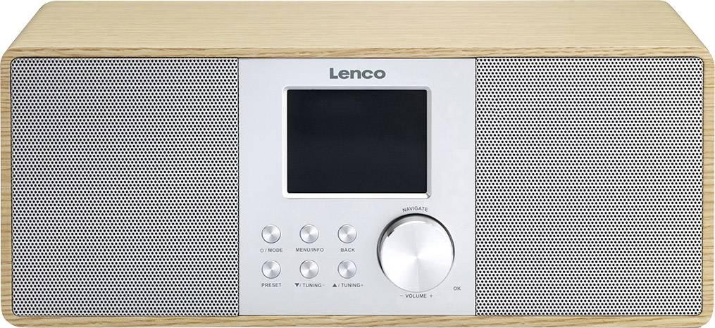 Internetové stolné rádio Lenco DIR-200, Wi-Fi, drevo