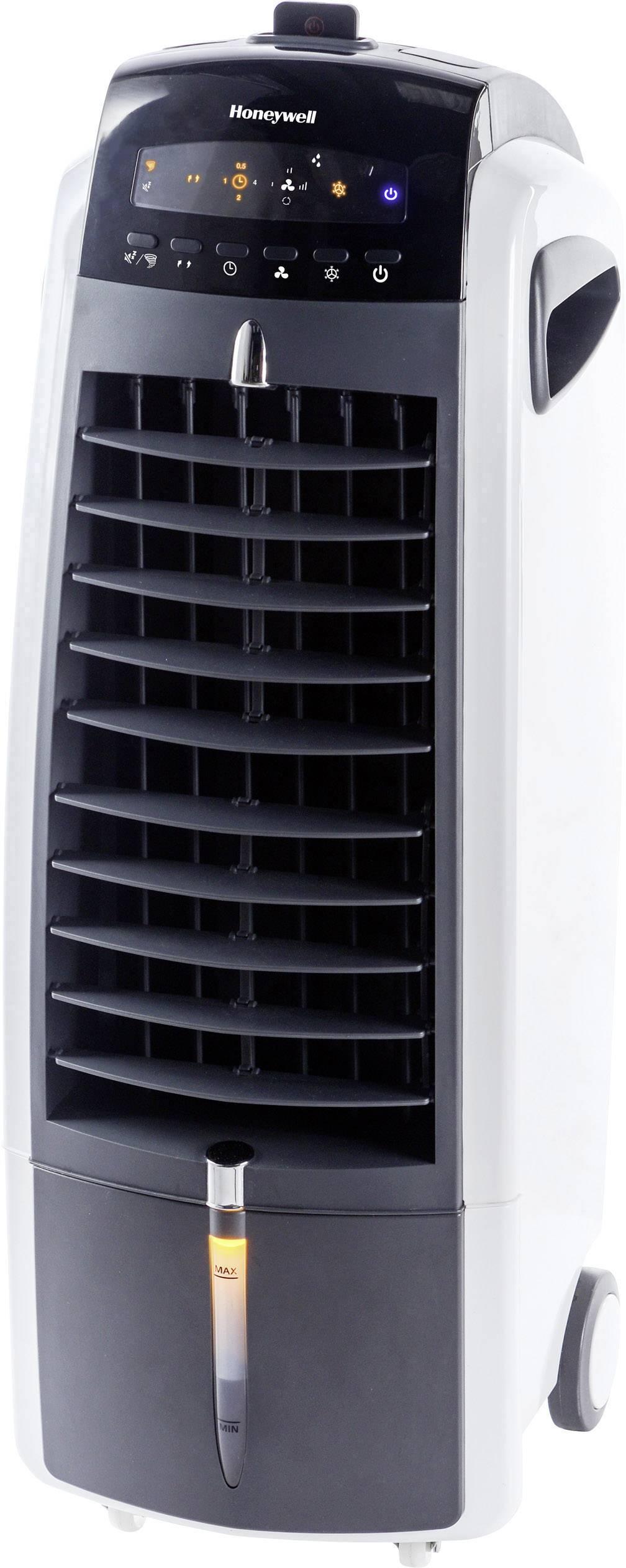 Mobilní ochlazovač vzduchu s dálk.ovladačem Honeywell AIDC ES800, 38.1 W, černá, bílá