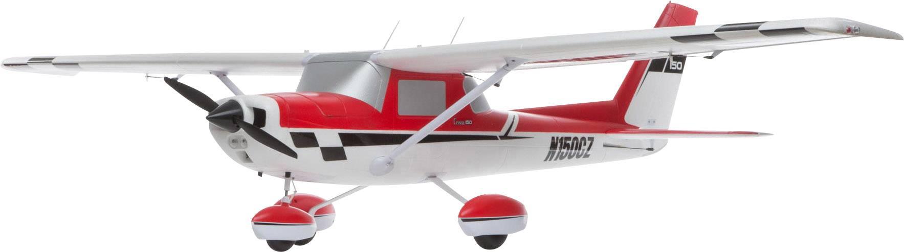 RC model motorového lietadla E-flite Carbon-Z Cessna 150 EFL1475, rozpätie 2125 mm