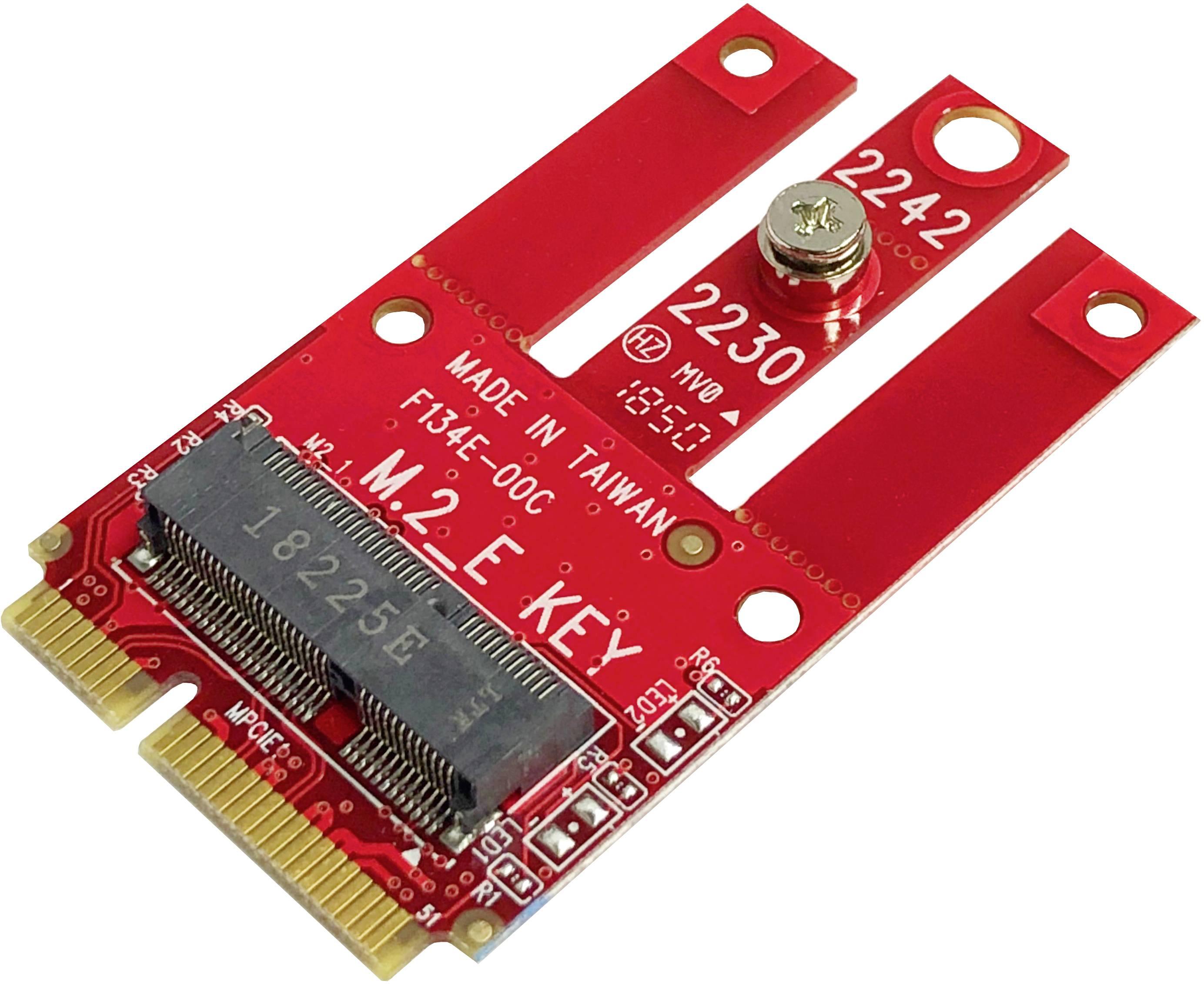 Konvertor rozhrania Renkforce RF-4630344, [1x - 1x mini PCI Express]