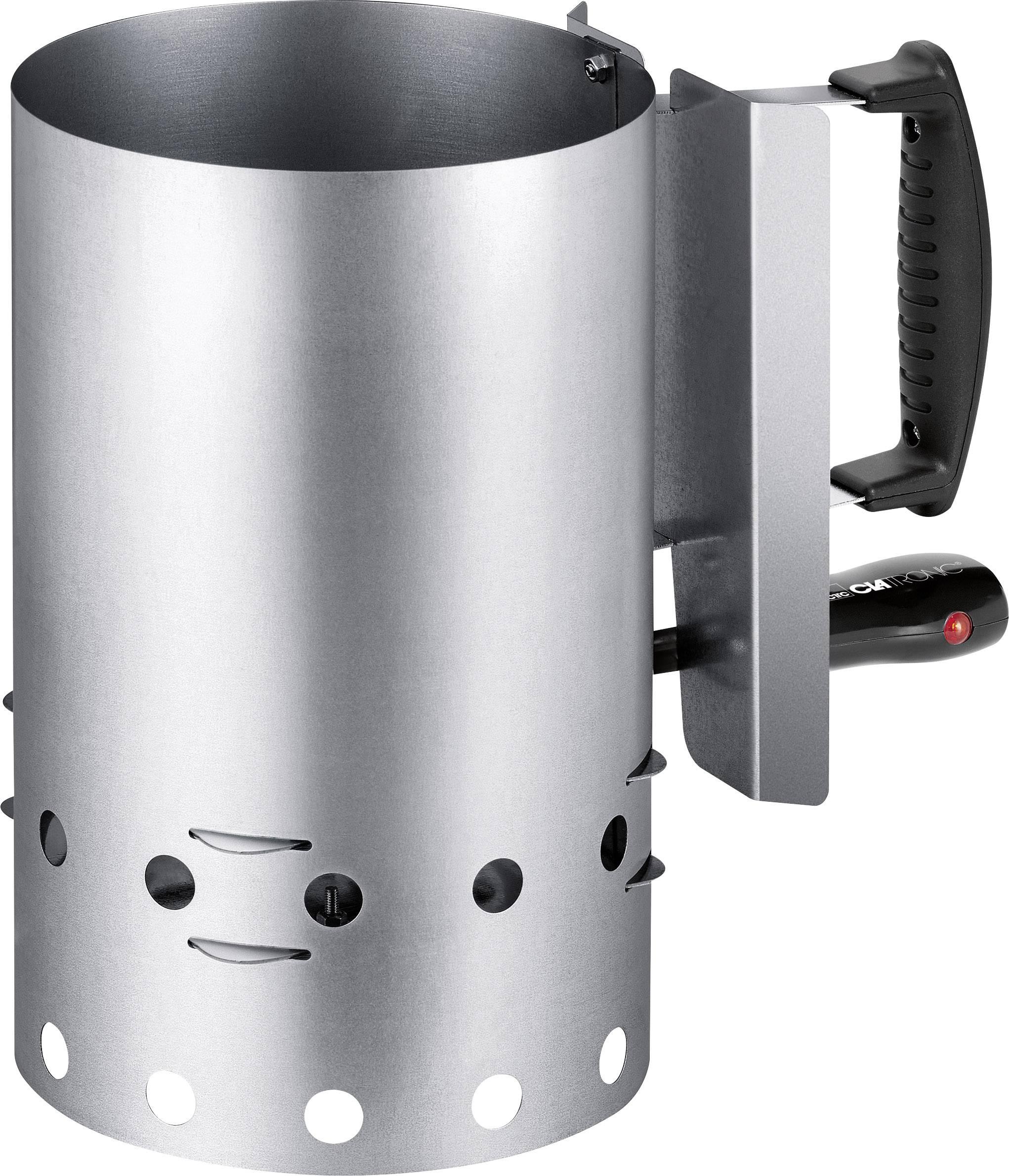 Elektrický zapalovač grilu Clatronic EGA3662 271723, 600 W, Silver Inox