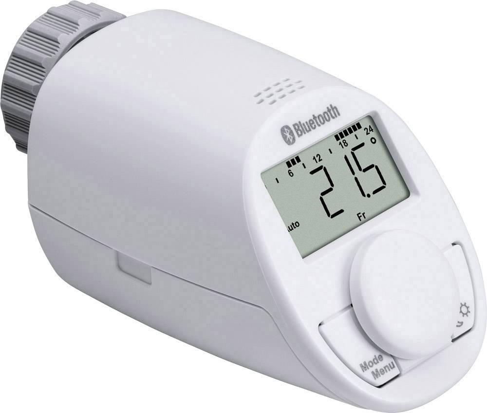 Bezdrôtová termostatatická hlavica na radiátor ovládaný cez smartfón eqiva CC-RT-BLE-EQ