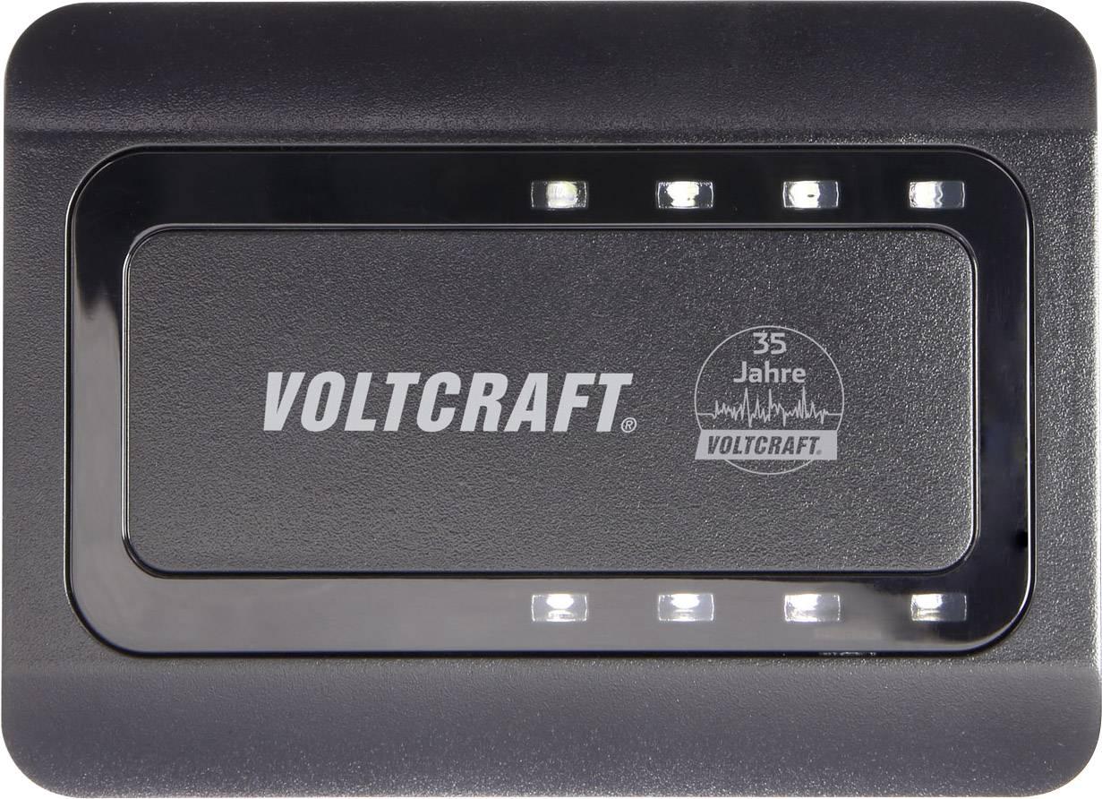 USB nabíječka VOLTCRAFT SPAS 8000, nabíjecí proud 8400 mA, černá