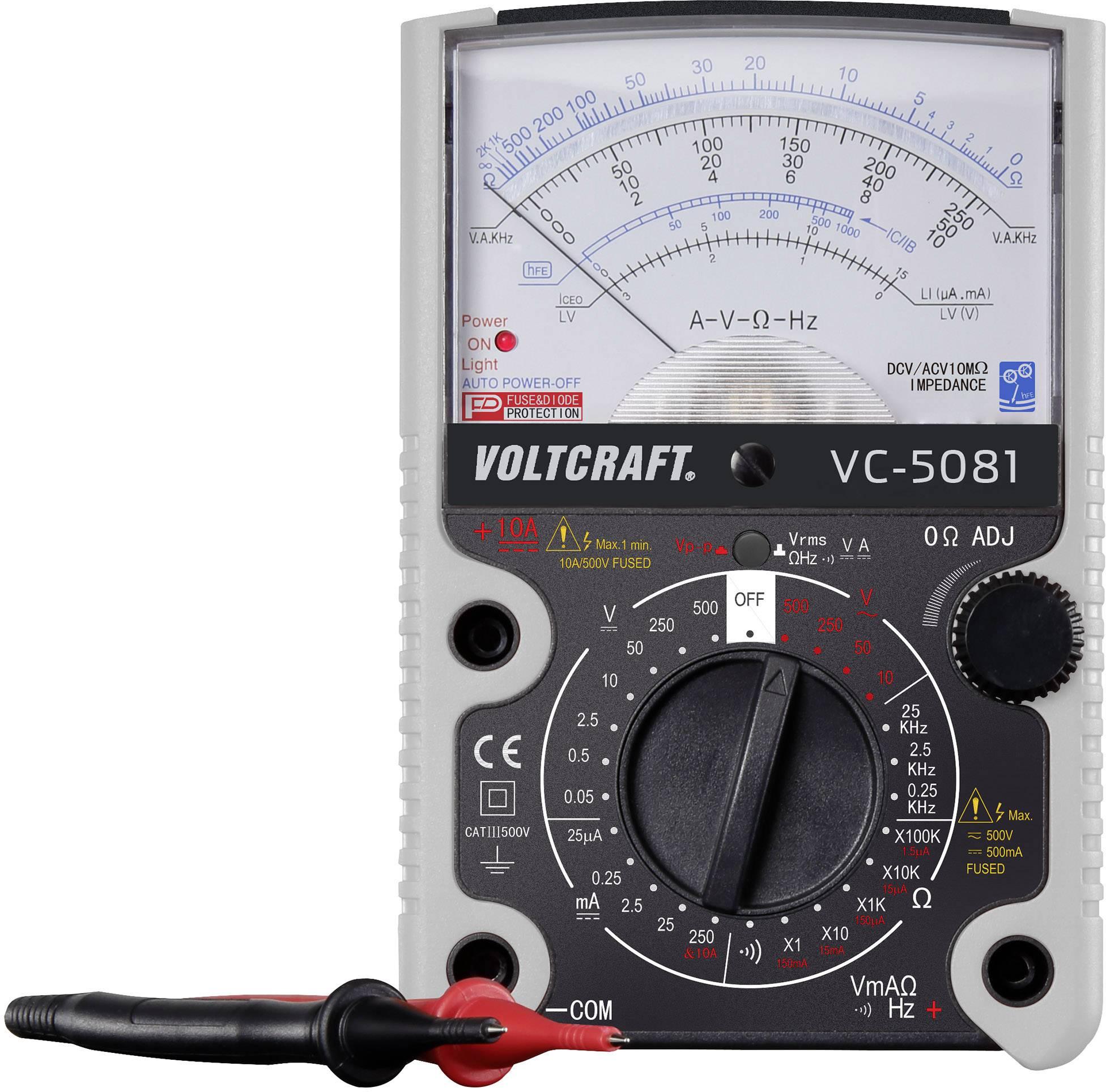 Analógový ručný multimeter VOLTCRAFT VC-5081