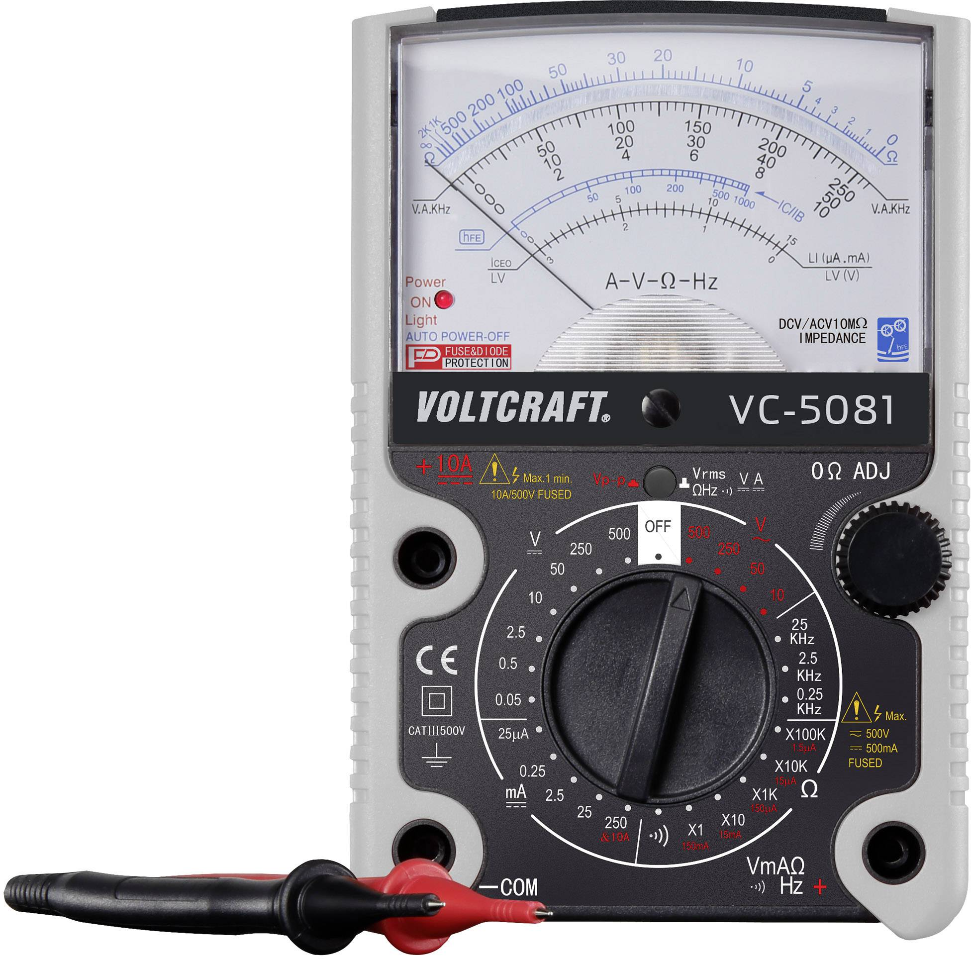 Analogový multimetr VOLTCRAFT VC-5081