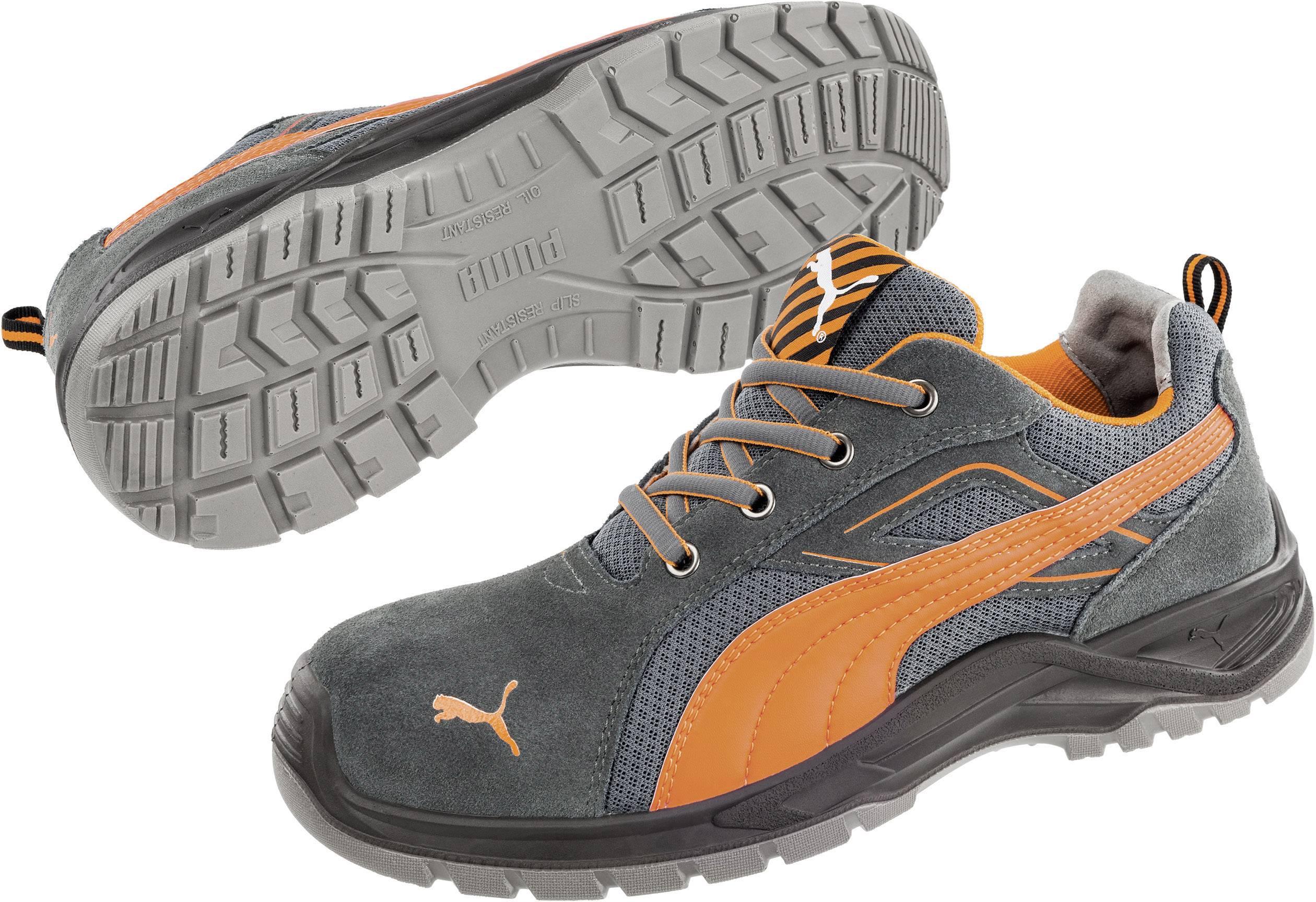 Bezpečnostní obuv S1P PUMA Safety Omni Orange Low SRC 643620-44, vel.: 44, černá, oranžová, 1 pár