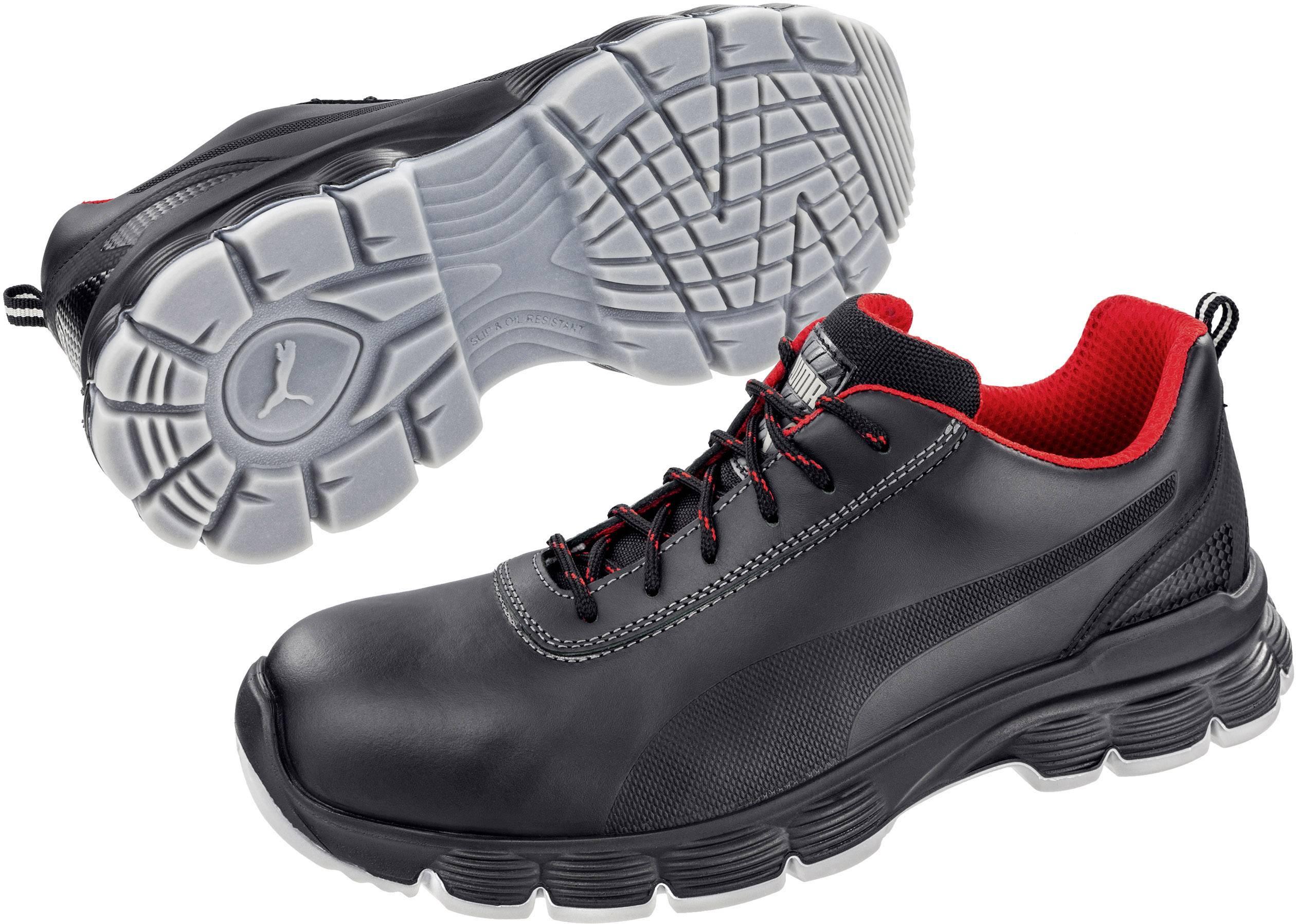 Bezpečnostní obuv ESD S3 PUMA Safety Pioneer Low ESD SRC 640521-40, vel.: 40, černá, 1 pár