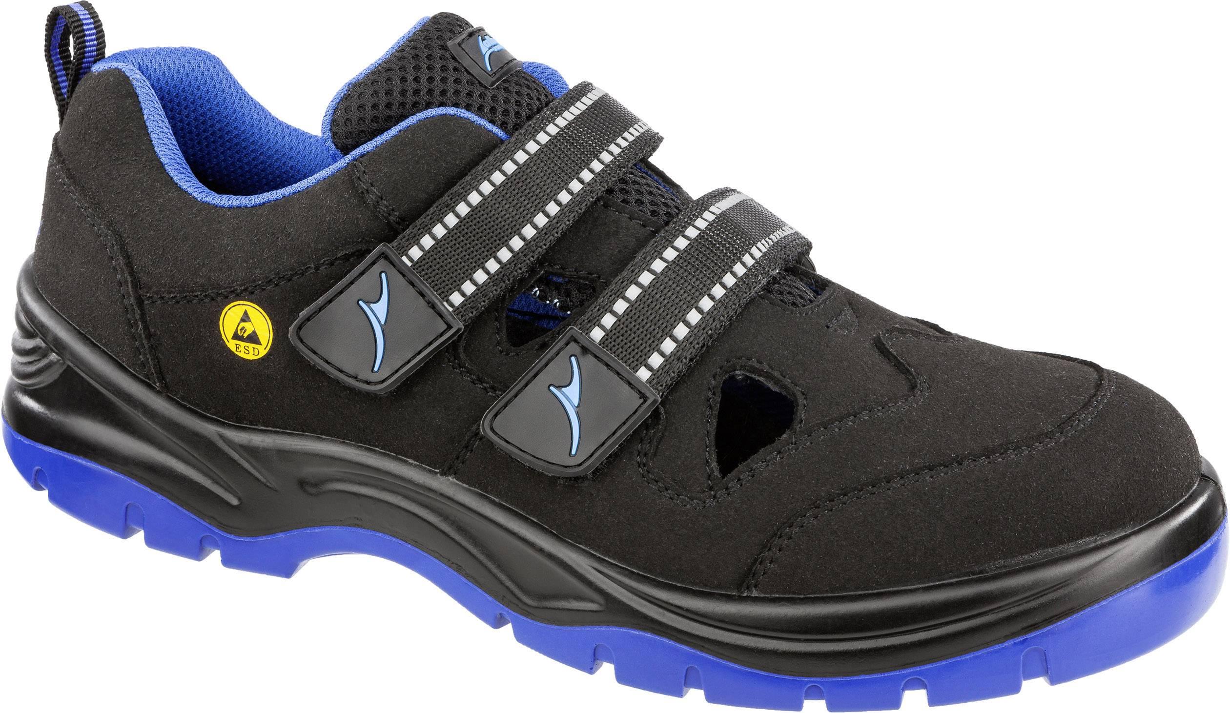 Bezpečnostní obuv ESD S1P Albatros BLUETECH AIR LOW ESD SRC 641110-42, vel.: 42, černá, modrá, 1 pár