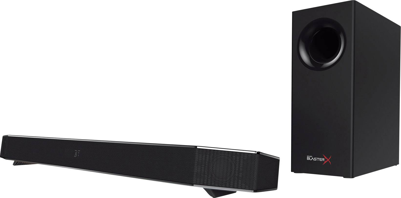 PC reproduktory Sound BlasterX káblový, 75 W, čierna