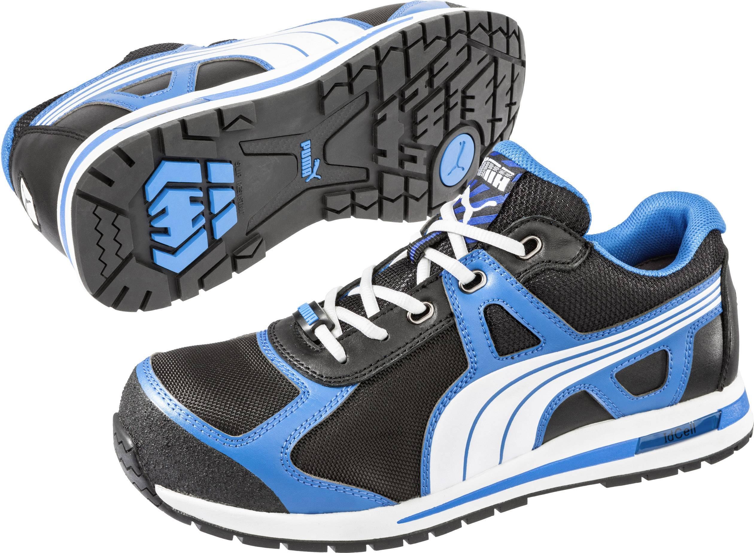 Bezpečnostní obuv S1P PUMA Safety Aerial Low HRO SRC 643020-44, vel.: 44, černá, modrá, bílá, 1 pár