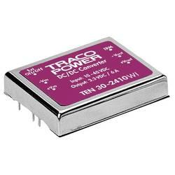 DC/DC měnič TracoPower TEN 30-4823WI, vstup 18 - 75 V/DC, výstup ±15 V/DC, ±1 A, 30 W