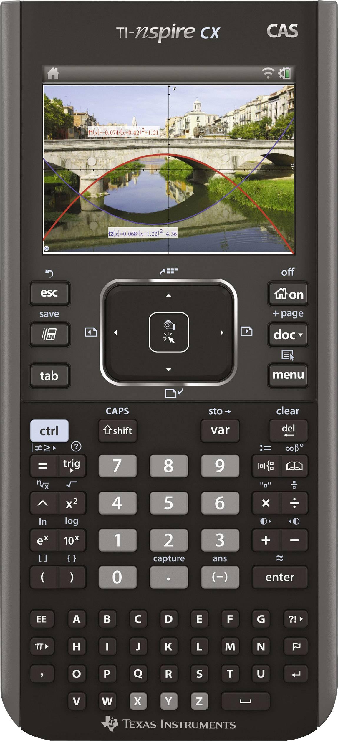 TI-Nspire™ CX CAS černá Texas Instruments TI-Nspire CX CAS černá