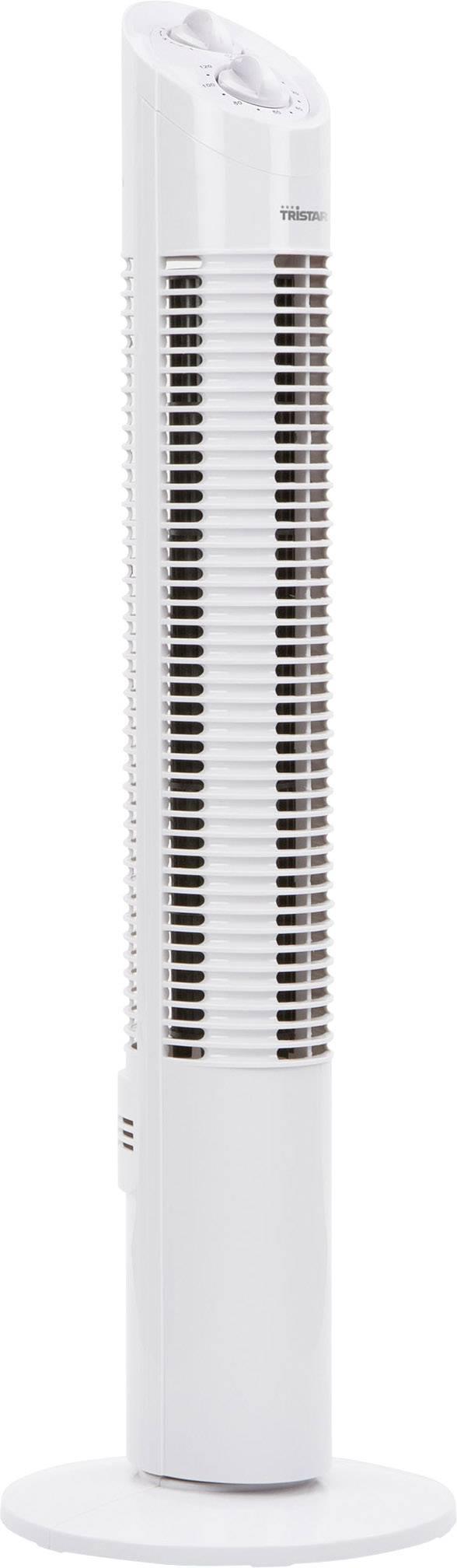 Otočný vežový ventilátor Tristar VE5905, 30 W, 73 cm, biela