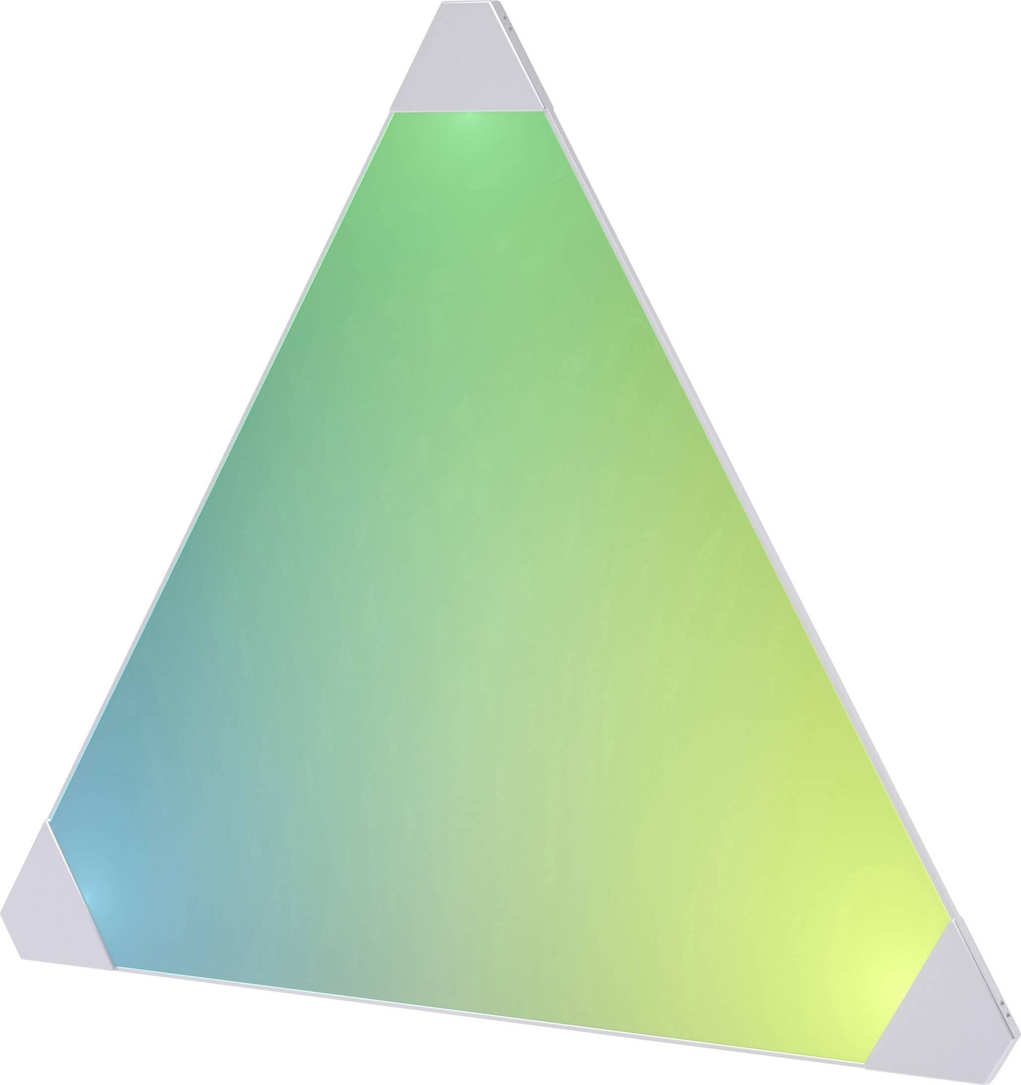 Chytré LED dekorační světelné panely, rozšiřující sada Nanoleaf Aurora PWZ-5901 s Wi-Fi, 6 W, RGBW