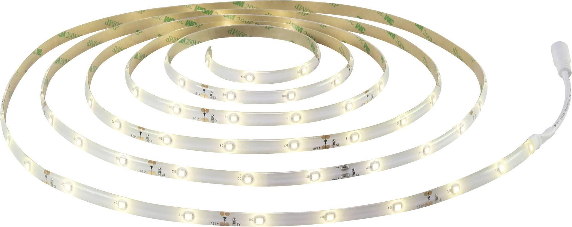 LED pásik Polarlite 12 V/DC, 6 W, neutrálne biela, 300 cm