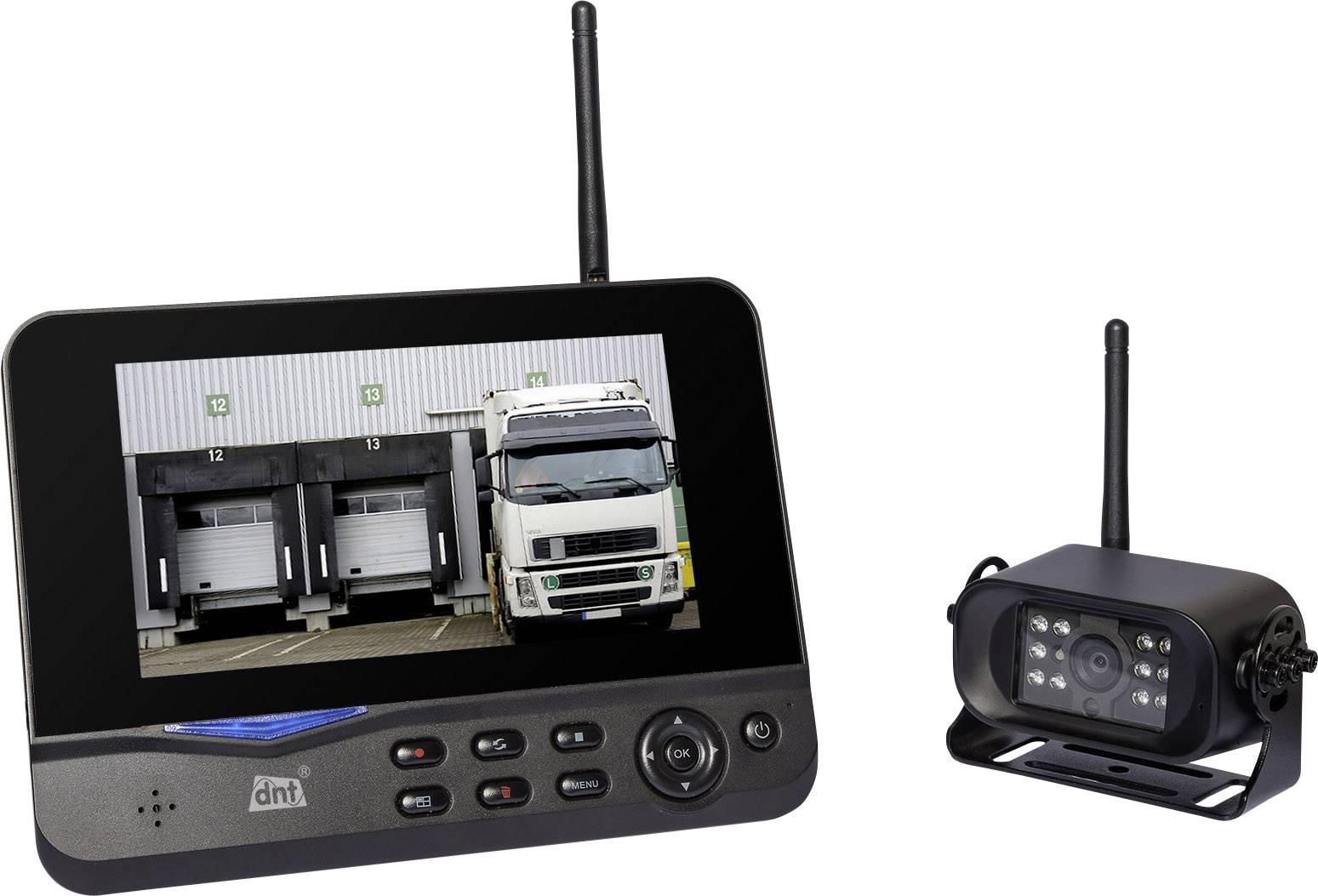 Bezdrôtový cúvací videosystém pre ťahače dnt RFK Truck