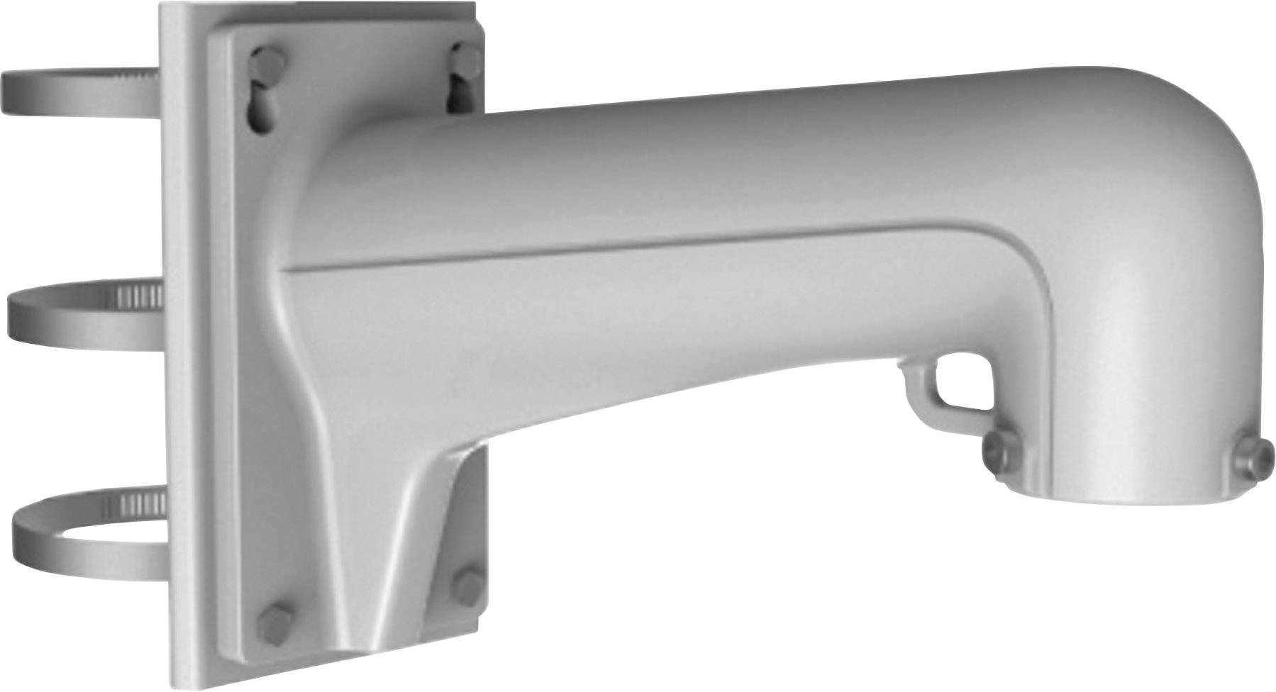 Držiak na stĺpy HiWatch DS-1602ZJ-Pole, Max.nosnosť 30 kg, biela