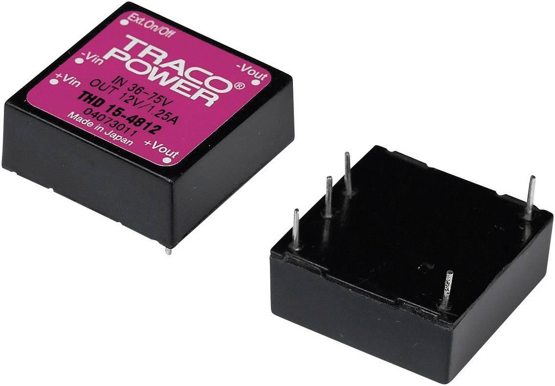 DC/DC měnič TracoPower THD 15-4822