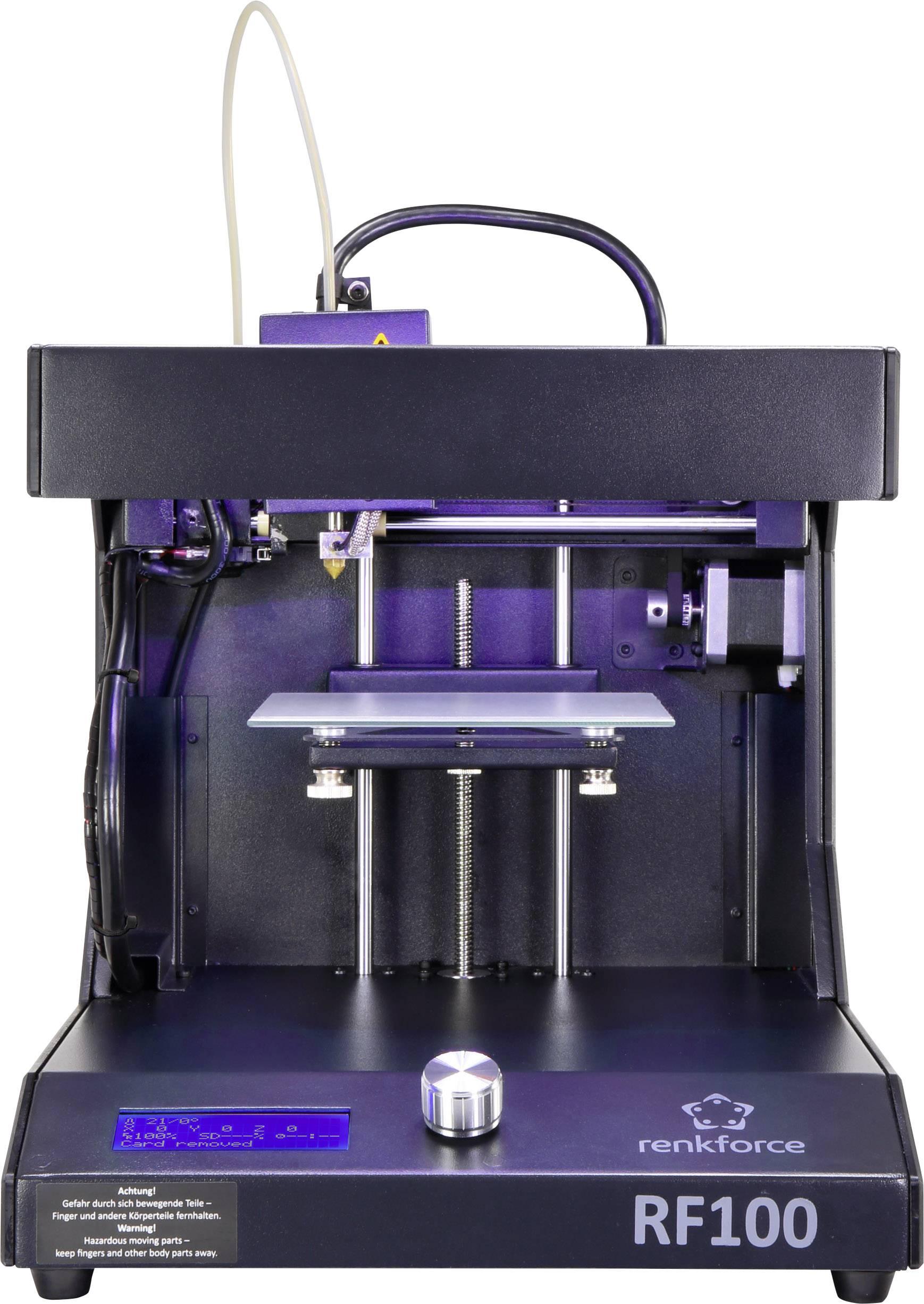 3D tiskárna Renkforce RF100 v1 včetně náplně