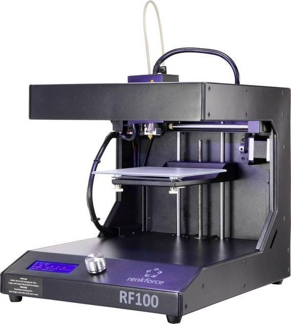 3D tlačiareň Renkforce RF100 v2, zdokonalená verzia