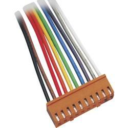 Zásuvkový konektor s vodiči BKL Electronic 072500-O, 5.50 mm, pólů 2, rozteč 2.50 mm, 1 ks