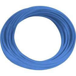 Lanko/ licna BKL Electronic H05V-K, 1 x 0.75 mm², vnější Ø 2.30 mm, modrá, 10 m