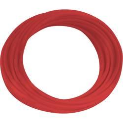 Lanko/ licna BKL Electronic H05V-K, 1 x 0.75 mm², vnější Ø 2.30 mm, červená, 10 m