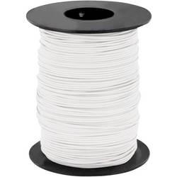 Opletenie / lanko BELI-BECO L125WS25 1 x 0.25 mm², vonkajší Ø 1.2 mm, 25 m, biela