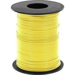 Opletenie / lanko BELI-BECO L125GE25 1 x 0.25 mm², vonkajší Ø 1.2 mm, 25 m, žltá