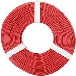 Opletenie / lanko BELI-BECO L125RT50 1 x 0.25 mm², vonkajší Ø 1.2 mm, 50 m, červená