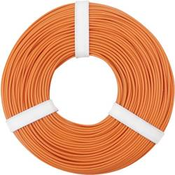 Opletenie / lanko BELI-BECO L125OR50 1 x 0.25 mm², vonkajší Ø 1.2 mm, 50 m, oranžová