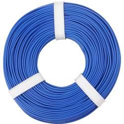 Opletenie / lanko BELI-BECO L125BL50 1 x 0.25 mm², vonkajší Ø 1.2 mm, 50 m, modrá