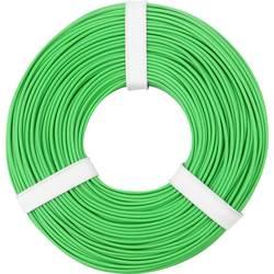 Opletenie / lanko BELI-BECO L125GN50 1 x 0.25 mm², vonkajší Ø 1.2 mm, 50 m, zelená