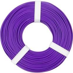 Opletenie / lanko BELI-BECO L125VI50 1 x 0.25 mm², vonkajší Ø 1.2 mm, 50 m, fialová