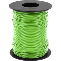 Opletenie / lanko BELI-BECO L125GN25 1 x 0.25 mm², vonkajší Ø 1.2 mm, 25 m, zelená