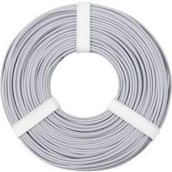 Opletenie / lanko BELI-BECO L125GR50 1 x 0.25 mm², vonkajší Ø 1.2 mm, 50 m, sivá