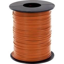 Opletenie / lanko BELI-BECO L125OR25 1 x 0.25 mm², vonkajší Ø 1.2 mm, 25 m, oranžová