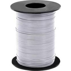 Opletenie / lanko BELI-BECO L125GR25 1 x 0.25 mm², vonkajší Ø 1.2 mm, 25 m, sivá