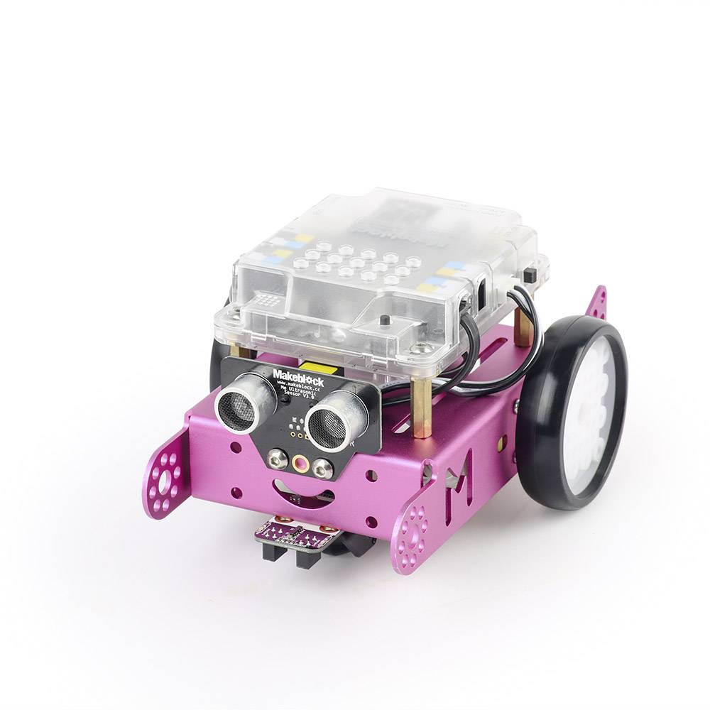Stavebnica robota Makeblock 137409 mBot pink v1.1 (Bluetooth Version)